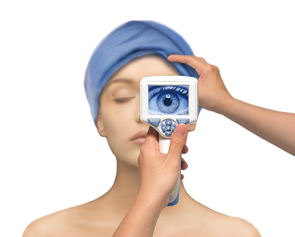 自動瞳孔記録計 NPi-200